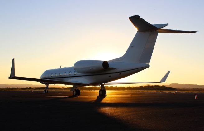 Adelaide charter jets